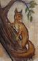 Eichkätzchen,Acrylgravur auf Leichtschaumplatte,22x14,2013