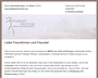 Konzeption & Gestaltung des Newsletters inkl. Versand