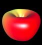 Modellierung 3D Apfelkörper - 3