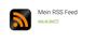 Auf meinem Blog auf das RSS Feed Symbol klicken