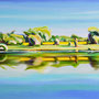 Landschaft/ 2011/ oil on canvas/ 100 x 200cm