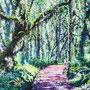 Lichterwald/ 2017/ oil on canvas/ 150 x 200cm