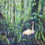 Dschungel VI/ 2021/ oil on canvas/ 80 x 80cm