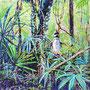 Dschungel V / 2019/ oil on canvas/ 80 x 80cm
