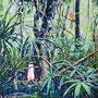 Dschungel II / 2018/ oil on canvas/ 80 x 80cm