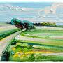 Feld/ 2017/ oil on canvas/ 24 x 50cm