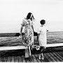 37,70x35,80cm,  On a Bridge, Palanga 1968