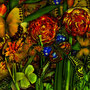 Antonius - Magic Garden-Jungle- Cabbage, 120x80cm