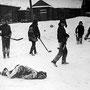 56,00x39,80cm, Cruel Games on the Snow, Vilnius 1969