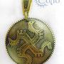 Подвеска «Коловрат» - 330 руб. Коловрат - древнейший славянский символ Солнца, с головами четырех самых распространенных культовых животных- коня, быка, грифона и птицы.