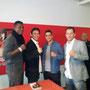 Remy Bonjaski, Azem Maksutaj ( Kickboxmasters) Don Wilson (hollywoodstar)