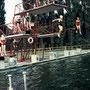 Schwimmen im Angerbad 1957