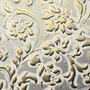 Sibu Designplatte LL Floral White/Gold matt