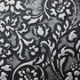 Sibu Designplatte LL Floral Black/Silver matt