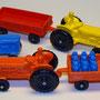 Fordson traktor med vagn