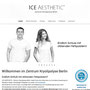 ICE AESTHETIC - Zentrum Kryolipolyse Berlin | Webdesign