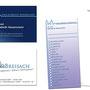 Arztpraxis Breisach (Design & Erstellung von Visitenkarten mit partieller Hochglanzbeschichtung, Briefpapier, Flyer)