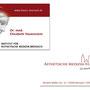 Institut für Ästhetische Medizin Breisach (Logodesign, Visitenkarten Design (mit partiellem Hochglanzdruck)
