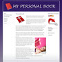 MY PERSONAL BOOK (Webdesign)