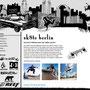 Webdesign Entwurf für sk8te Berlin