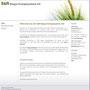S&R Biogas Energiesysteme AG (Webdesign, Logo)