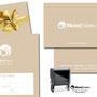 Skin|Estetic - Komplette Geschäftsausstattung (Broschüre, Gutschein, Visitenkarte, Firmenstempel, etc.) + Logodesign