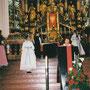 Messe in der Mondseer Basilika, Fürbitten von Roswitha Mamoser