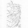 110414 - 2014 - Bleistift - 30 cm x 21 cm