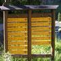Segnaletica valdostana nel Parco del Gran Paradiso