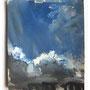 Sky study – 2011 / A6 / Oils on paper