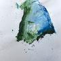 Window – 2017 / 60 x 45 cm / Inks & acrylics on paper