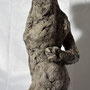Figure study 2 – 2018 / H 40 cm / fired clay