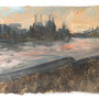 Riverside study – 2011 / A5 / Oils on paper