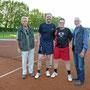 HE 40 Siegerehrung Horst Hofmann, Ralf Schemmer, Peter Roth u. Volker Wilden