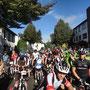 Der Block für den Halbmarathon     60km