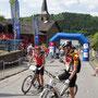 man siehts den Bikern an bei der Hitze ne`n Marathon fahren !!!!!   nicht ohne