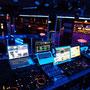 Ein Teil der Technik im DJ Tower