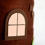Turmfenster aus Moosgummi
