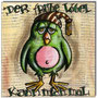 """Early Bird""/ 2013/Acryl und Collage auf Leinwand/ 20×20 cm"
