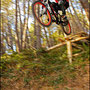 Claudio Barreca, downhill training in Monti Pisani