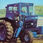 Ford 8600 Traktor mit Kabine (Quelle: CNH)