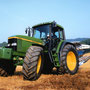 John Deere 6910 Traktor mit Pflug(Quelle: John Deere)