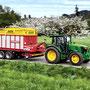John Deere 5115M Allradtraktor mit Kabine (Quelle: John Deere)