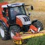 Steyr 6135 Profi gleiche Basis zu MXU 135 (Quelle: Steyr)
