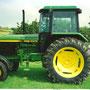 John Deere 3050 Hinterradmaschine (Quelle: Classic Tractor Magazine)