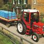 IHC 585 XL Traktor mit XL-Kabine (Quelle: Hersteller)