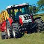 Steyr 9100MT gleich Case IH CS Pro (Quelle: Steyr)