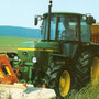John Deere 2140 Allradtraktor mit SG2 Kabine (Quelle: John Deere)
