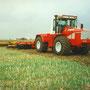 Kirovets K-734 Knicklenker (Quelle: Classic Tractor Magazine)