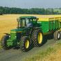 John Deere 3650 Allradtraktor (Quelle: Classic Tractor Magazine)